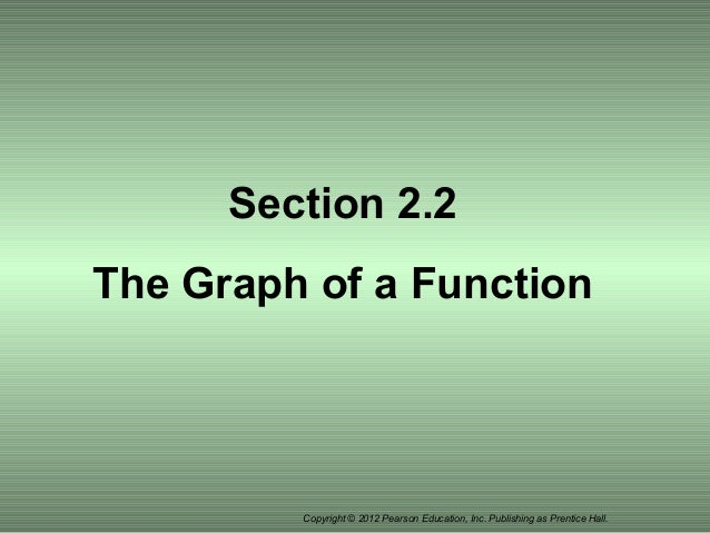 Section 2 2 The Graph Of A Function