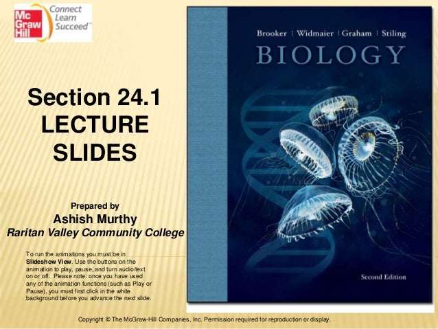 Section 24.1    LECTURE     SLIDES                   Prepared by            Ashish MurthyRaritan Valley Community College ...