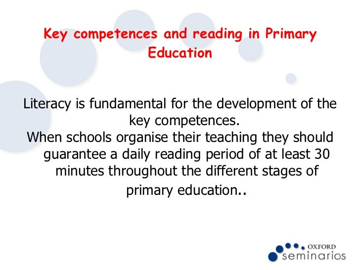 key competences in the spanish education system
