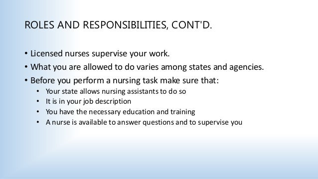 Section 2 The Nursing Assistant (1)