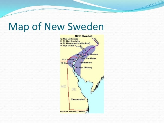 Chapter Section Notes - Sweden new map