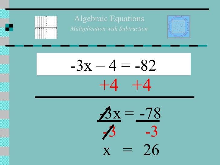 Section 3.4 solving multi step equations (algebra)