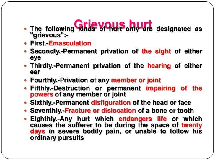 Section 320 ---- ipc Slide 2