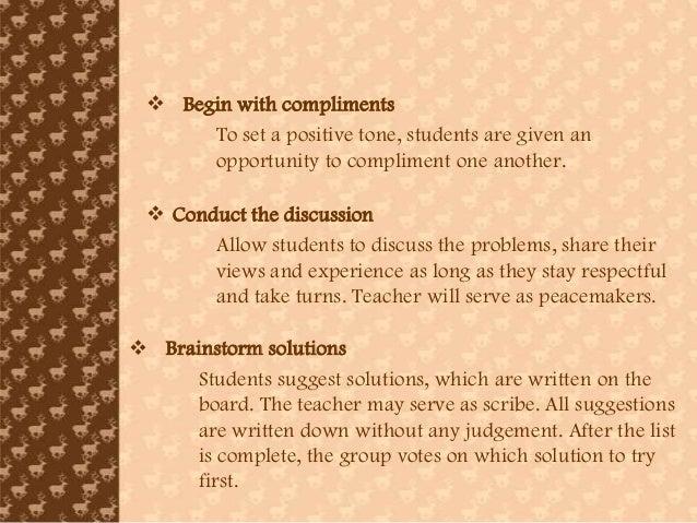 CLASSROOM MANAGEMENT Establishing a Classroom Management