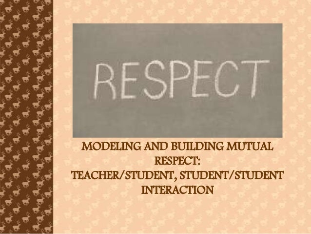 management and respect School climate reform means measuring the level of respect and then using that information to improve the quality of school life for some, the notion of respect implies a courteous.