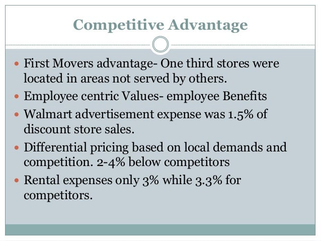 sustainable competitive advantage example