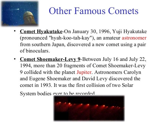 famous asteroids and comets - photo #13