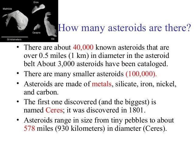 5 known asteroids - photo #34