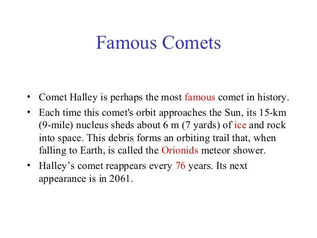 famous asteroids and comets - photo #28