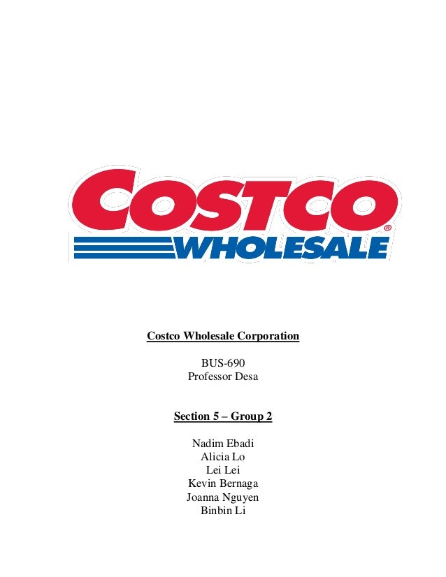 Business Analysis Project - Costco