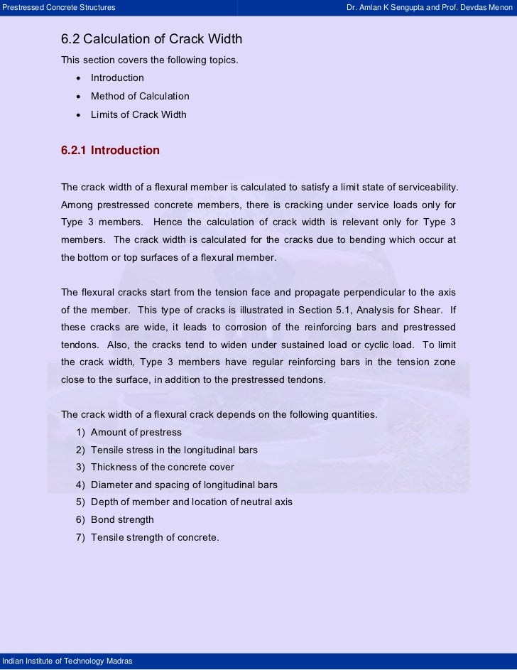 Prestressed Concrete Structures                                                    Dr. Amlan K Sengupta and Prof. Devdas M...