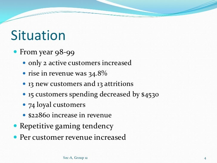harrahs entertainment study By 2000, harrah's entertainment, inc was well-known in the gaming industry and   harrah's research showed casino entertainment provides consumers a.