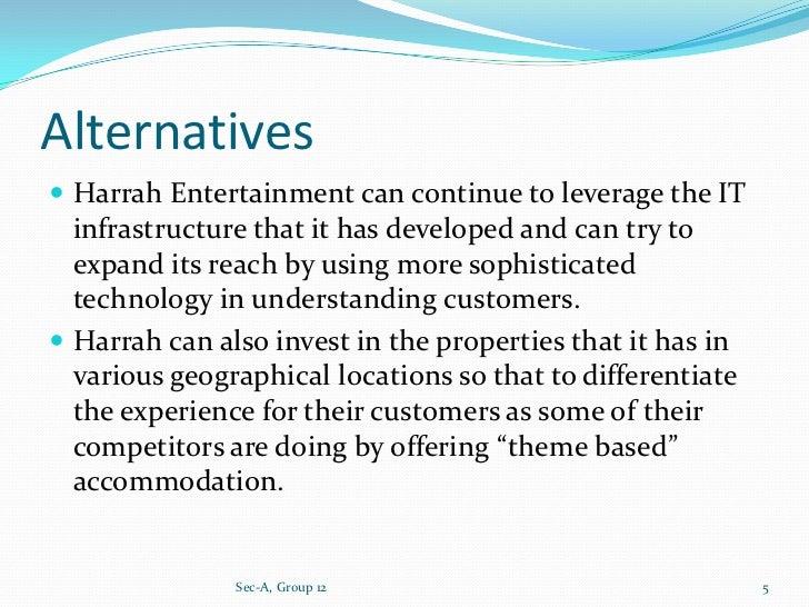 harrahs entertainment case study human resources