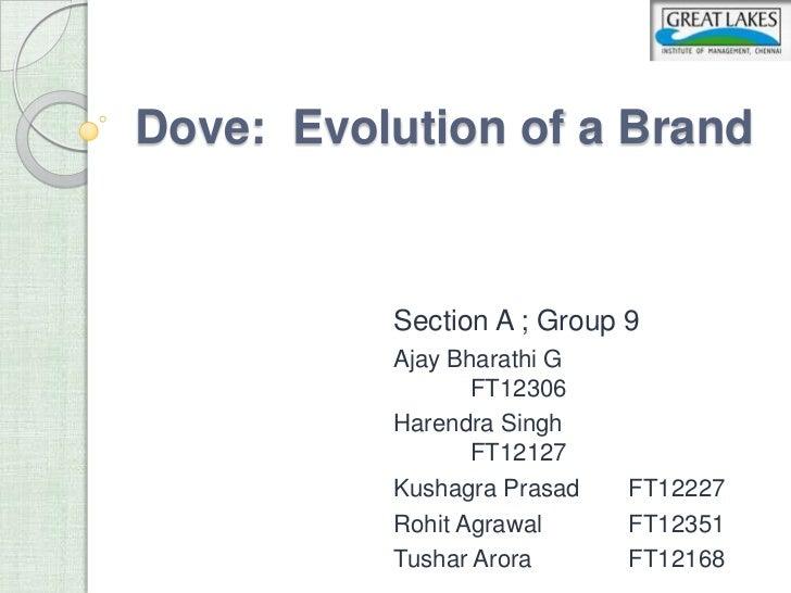 dove evolution of a brand problem statement