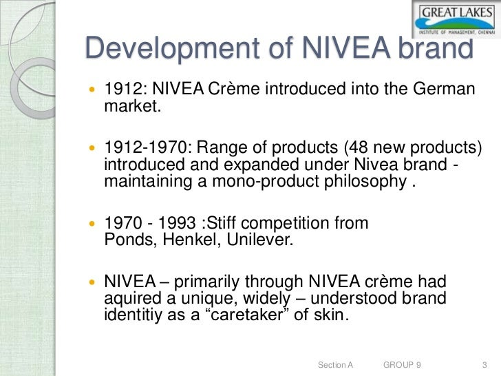 nivea marketing research Our marketing & sales team brings together global product concepts with local consumer insights to launch new products successfully find out more.