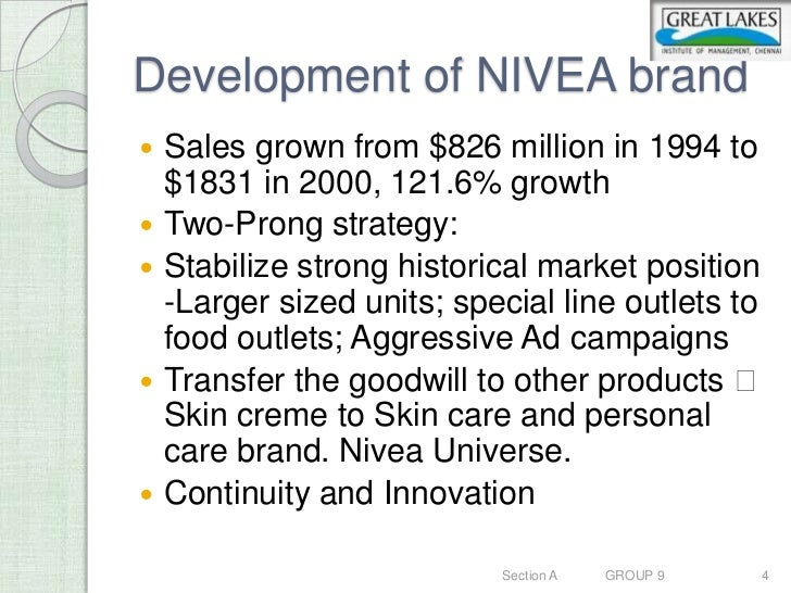 market positioning for nivea A careful market segmentation is critical to successfully selling  nivea used this  research to develop their unique brand positioning that.