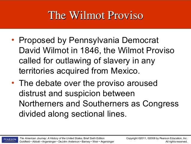 The Politics Of Sectionalism Slideshow Chapter 14