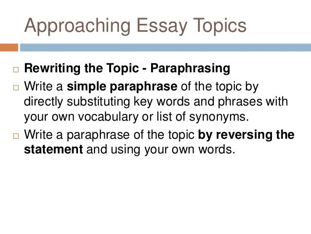 key terms essay writing Most university essay questions include an below is a list of terms describing actions you may be you should print this page for future reference because it will help you to analyse the key instruction terms in your future essay questions printable version of.