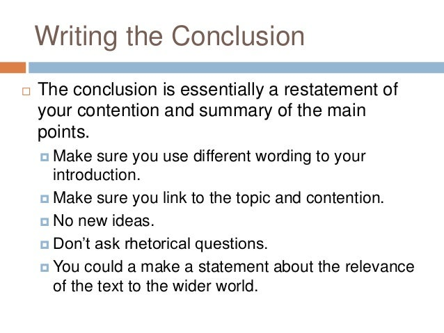 VCE English Exam: Text Response Revision
