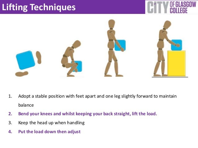 manual handling for healthcare safe lifting techniques training