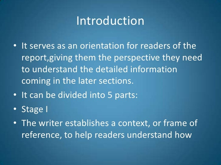 writing an introduction research paper Knowing how to write an introduction is yet another part of the process of writing a research paper.