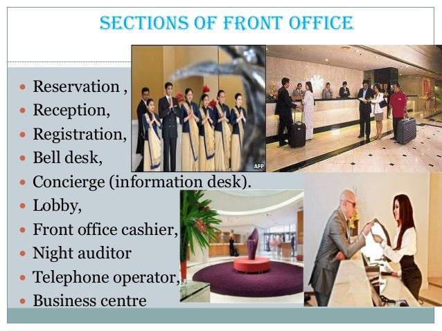 Office pdf front management hotel book