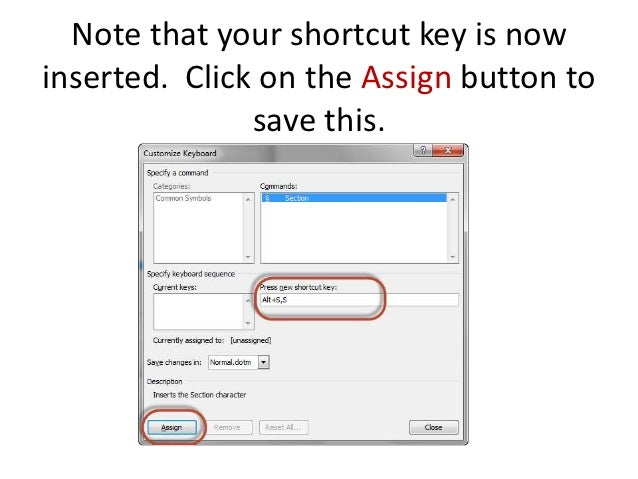How To Add A Word Shortcut For The Section Symbol For Laptop Users