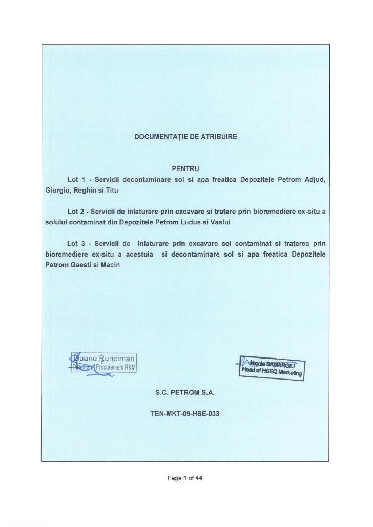 SECTIUNEA A: INSTRUCTIUNI PENTRU OFERTANTI                                                                            CUPR...