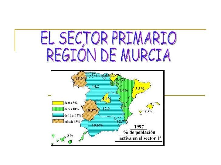 CÓMO ES EL SECTOR PRIMARIO       El sector primario     comprende trabajos que      obtienen productos de la             ...