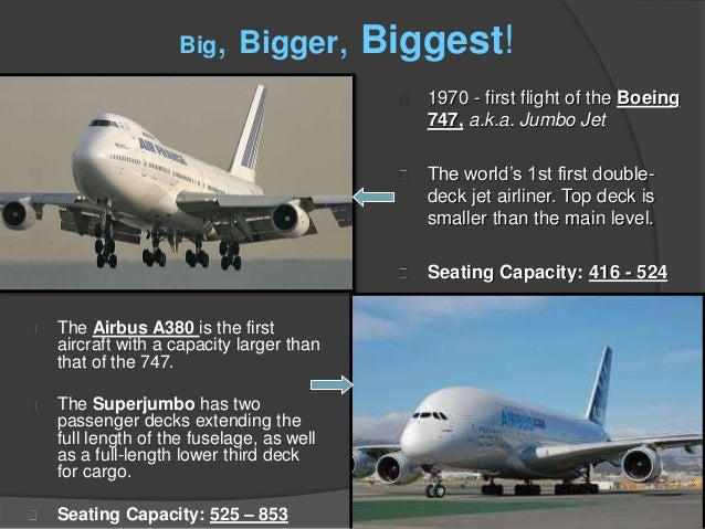 Seating Capacity  History Of The Airline