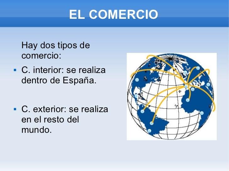 Sectores de producci n andrea for Que es el comercio interior