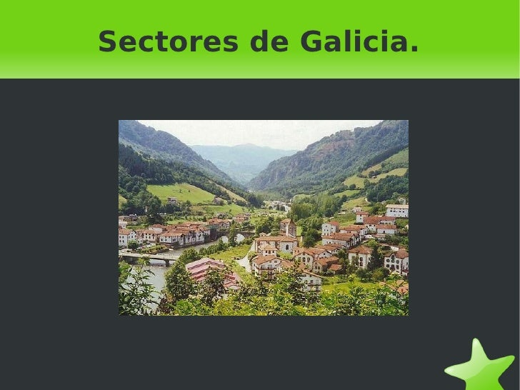 Sectores de Galicia.