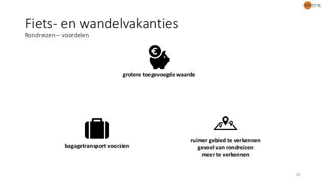 Fiets- en wandelvakanties Rondreizen – voordelen 10 bagagetransport voorzien ruimer gebied te verkennen gevoel van rondrei...