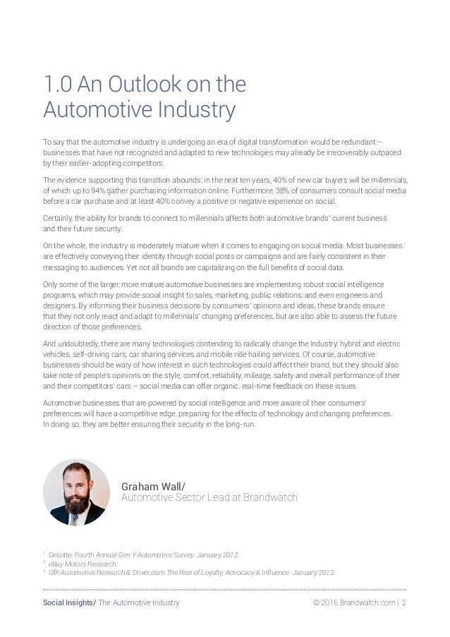 The Automotive Industry Through the lens of social Slide 2