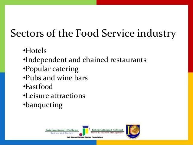 Food service industry homosexuals