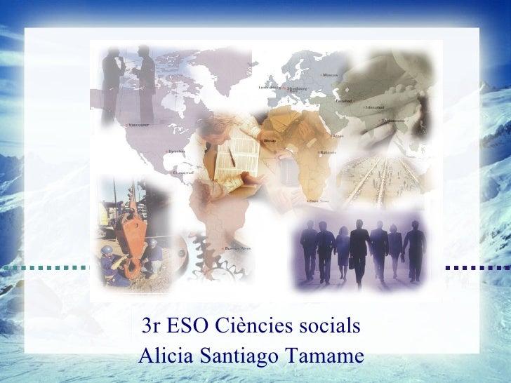POLIS 33r ESO Ciències socialsAlicia Santiago Tamame