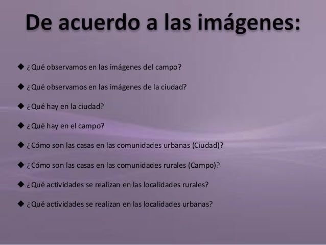 Secuencia didactica historia 1 el campo y la ciudad for Cuales son las caracteristicas de la oficina