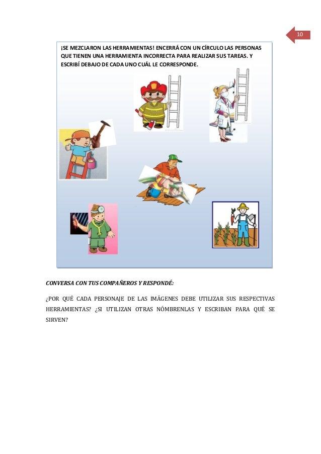 Secuencia Didáctica Tecnología Herramientas Manuales 1º Grado
