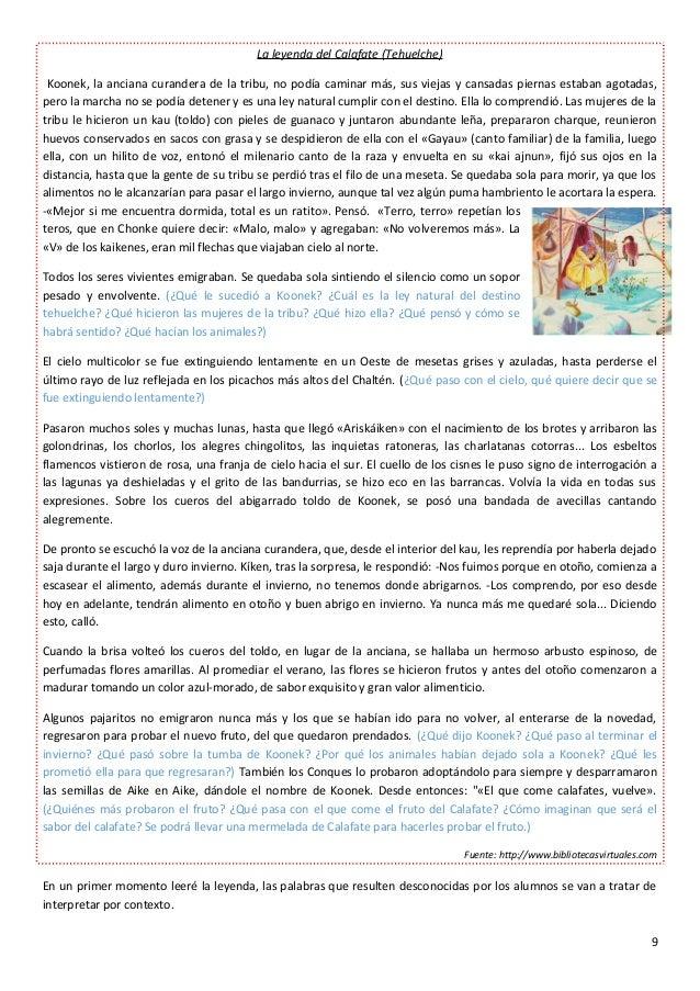 Secuencia Didctica Lenguatexto Narrativo Leyendas 638 Cb Leyenda Los Hermanos Ayar Historia
