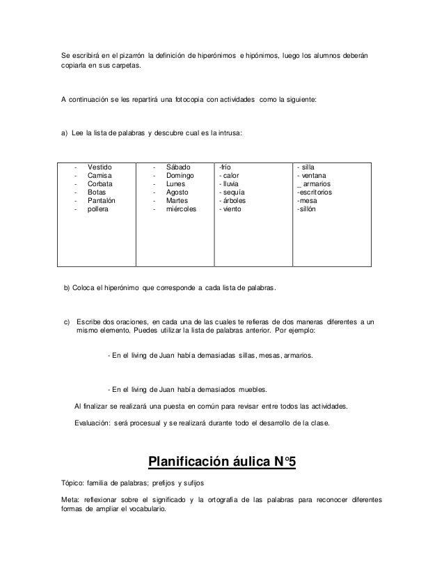 Secuencia didáctica para cuarto grado - lengua