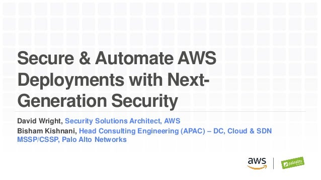 Secure & Automate AWS Deployments with Next-Generation