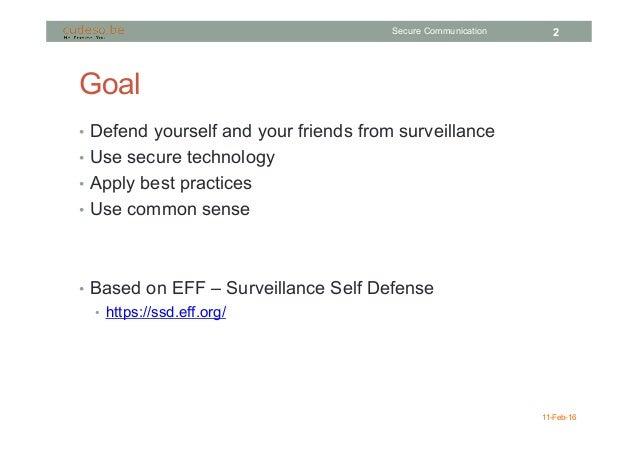 Secure Communication Slide 2