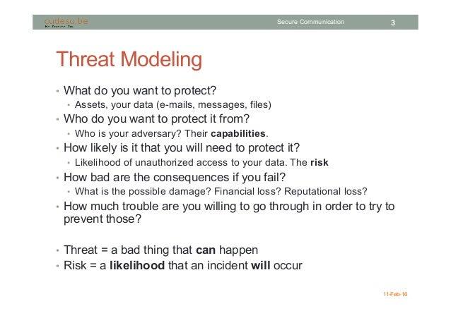 Secure Communication Slide 3