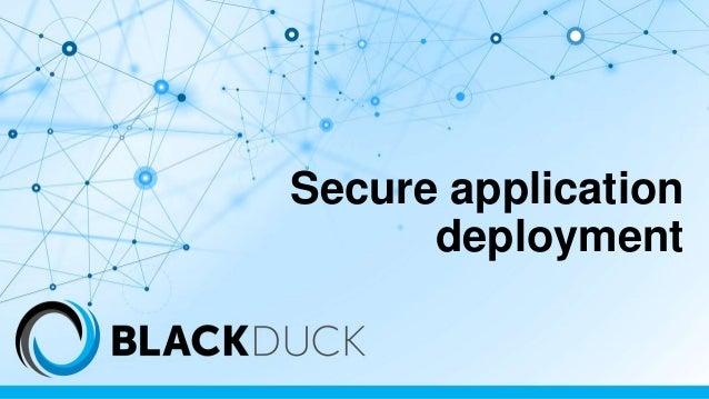 Secure application deployment