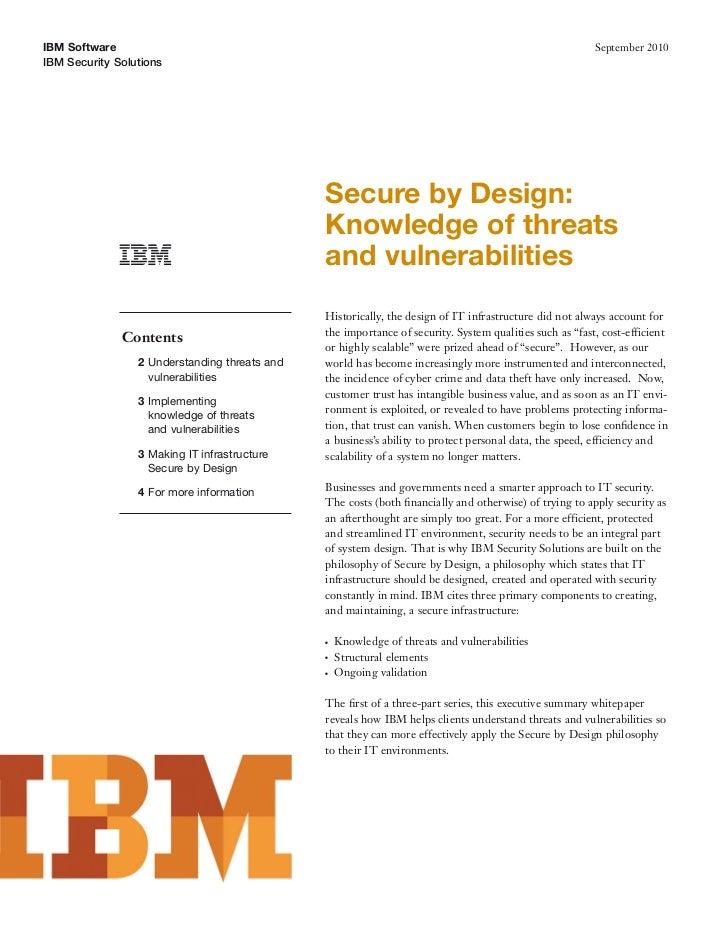 IBM Software                                                                                             September 2010IBM...