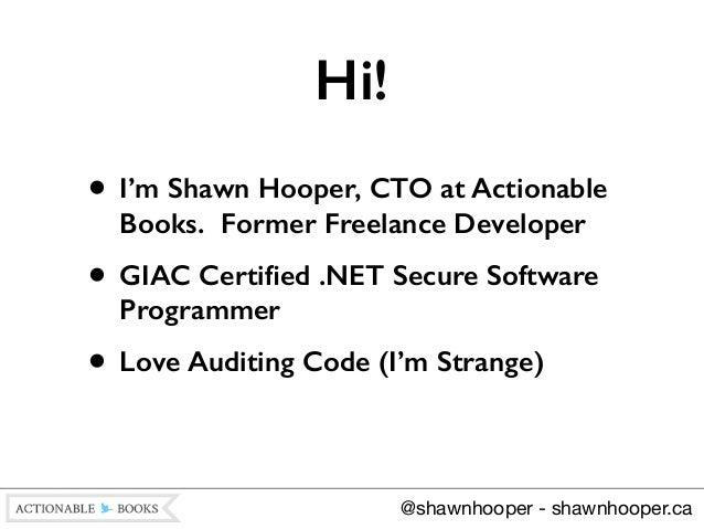 Writing Secure Code for WordPress Slide 2
