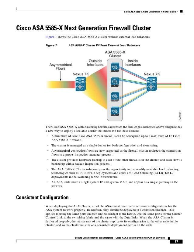 cisco asa clustering design guide