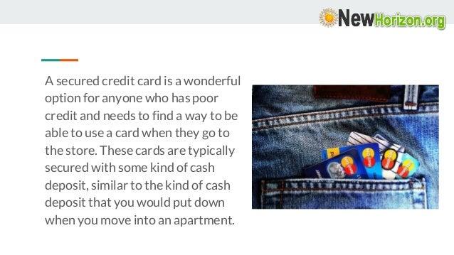 Secured Credit Card – How Good It Is?  Slide 2