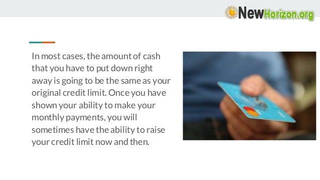 Secured Credit Card – How Good It Is?  Slide 3