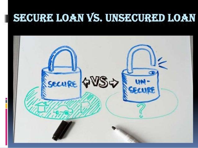 Secured Loans Definition